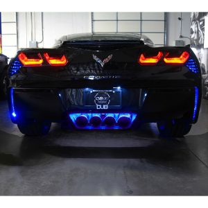 14-19 RGB Rear Fascia & Exhaust Add-On LED Kit