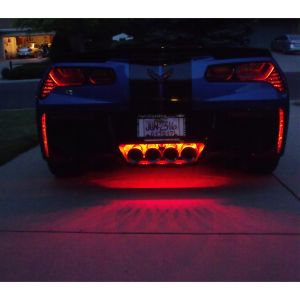 14-19 Rear Fascia & Exhaust LED Lighting Kit (Single Color)