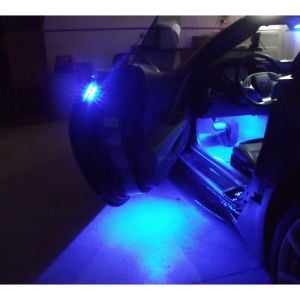 14-19 Door Puddle, Handle & Interior Footwell Superbright LED Lighting Kit (Single Color)