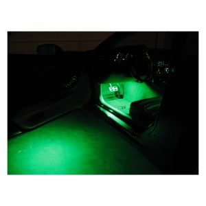 97-04 Door Puddle (Under Door) & Interior Footwell LED Lighting Kit (Single Color)
