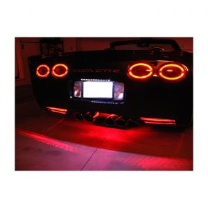 97-04 Rear Bumper/Fascia Vent LED Lighting Kit (Single Color)
