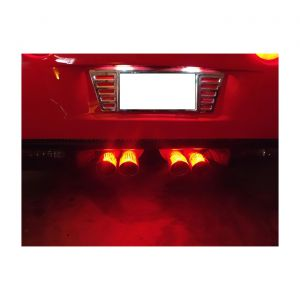 05-13 Rear Exhaust Tailpipe LED Lighting Kit (Single Color)
