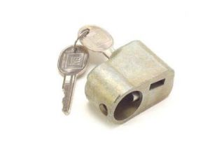 "1969-1982 Corvette Spare Tire Lock w/GM ""B"" Oval Keys"