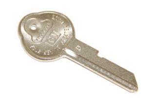 "1968 Corvette Round Head Original Key ""D"""
