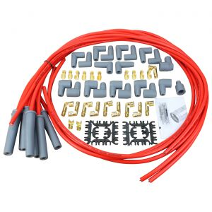 56-91 Dragon Fire Sport 8.5mm Spark Plug Wire Set w/180 Boots