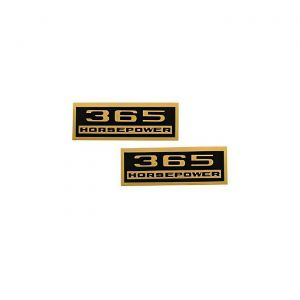 1964-1965 Corvette 365hp Valve Cover Decals