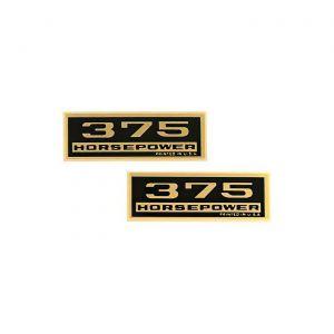 1964-1965 Corvette 375hp Valve Cover Decals