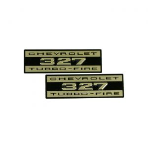 "1962-1963 Corvette Valve Cover ""Embossed Turbo-Fire"" Decals"