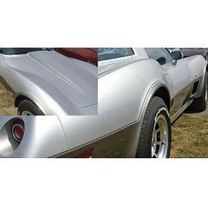 1978 Corvette Silver Anniversary Decal Set