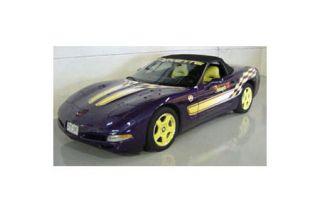 1998 Corvette Pace Car Decal Set