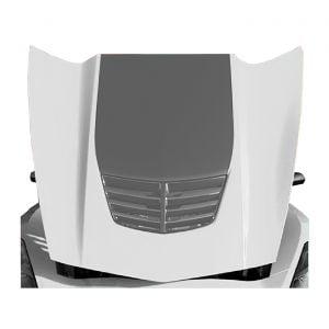 15-19 Z06/Z07 OEM Style Shark Gray Stinger Hood Decal