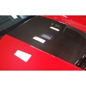 15-19 Z06/Z07 OEM Style Carbon Fiber Stinger Hood Decal