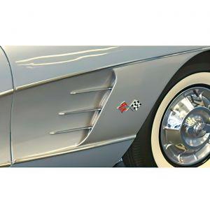 1958-1961 Corvette Side Fender Panel (PM)