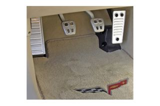 1997-2013 Corvette Aluminum Dead Pedal