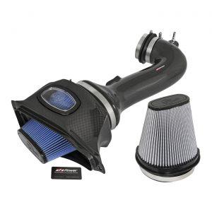 15-19 LT4 aFe Carbon Fiber Cold Air Intake System (Dual Media)