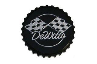 53-13 Dewitt's Billet Aluminum Black Powder Coated Radiator - Gripper (Default)