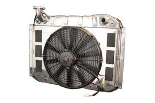 55-60 LS Conversion Direct Fit Aluminum Radiator & Fan Combo