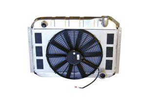 55-60 Direct Fit Aluminum Radiator & Fan Combo