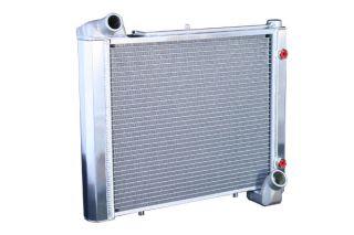 61-62 Direct Fit Aluminum Radiator w/Auto Trans Cooler