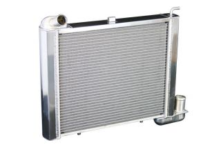 63-67 327 & 68-72 350 4-spd w/o AC Direct Fit Aluminum Radiator