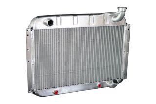 55-60 Direct Fit (HP) Aluminum Radiator w/Auto Trans Cooler