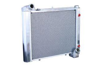 61-62 Direct Fit (HP) Aluminum Radiator w/Auto Cooler