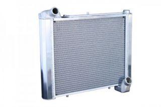 63-67 327 & 68-72 350 4-spd w/o AC Direct Fit (HP) Aluminum Radiator w/ Auto Trans Cooler
