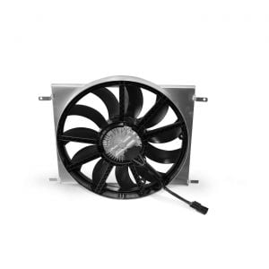 14-19 SPAL Brushless 19in Electric Fan Upgrade w/Custom Shroud (Exc. 70mm Radiator)