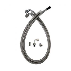 63-79 Detroit Speed Power Steering Stainless Hose Kit