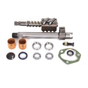 63-69E Steering Box Rebuild Kit w/Pitman Shaft & Worm Gear Assembly