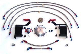 1997-2013 Corvette LG Transmission & Differential Cooler Package