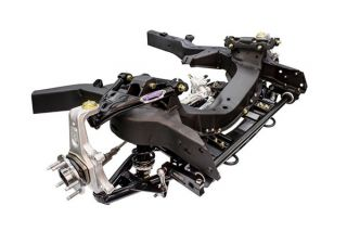 63-82 SBC/LS DSE SpeedRay Front Suspension (Fabricated, Single-Adjustable, 550lb/in Springs)