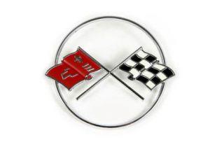 1962 Corvette Nose Emblem