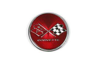 1975-1976 Corvette Gas Door Emblem