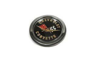 1962 Corvette Rear Gold Emblem Set