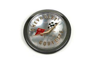 1958-1960 Corvette Front & 58-61 Rear Gold Emblem Set