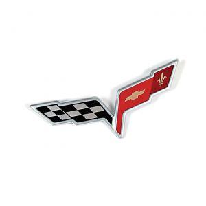 2005-2008 Corvette Rear Bumper Emblem