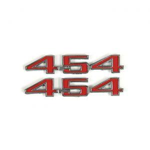 "1973-1974 Corvette ""454"" Hood Emblems"