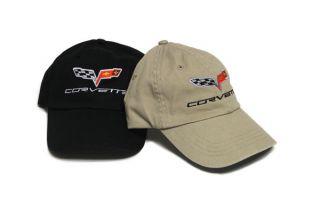 C6 Embroidered Corvette Hat