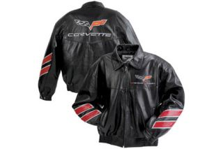 Grand Sport Black Leather Jacket