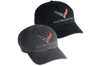 C7 Corvette Premium Washed Cap