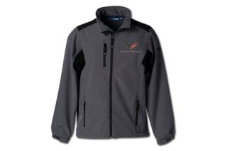 Men's Reebok Softshell Jacket with C7 Corvette Emblem