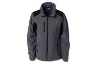 Ladies Reebok Softshell Jacket with C7 Corvette Emblem