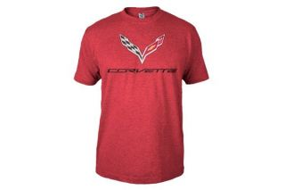 C7 Corvette Stingray Heather Red