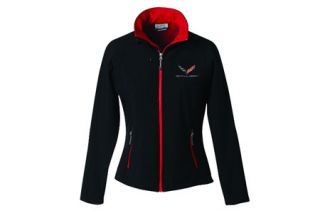 Ladies C7 Corvette Matrix Soft Shell Jacket (Apparel Sizes)