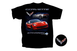 C7 Corvette Stingray Black T-Shirt
