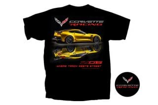 C7 Corvette Z06 Where Track Meets Street T-Shirt