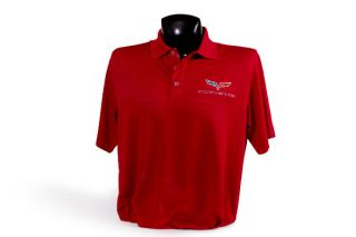 Men's Callaway C6 Corvette Performance Polo Shirt