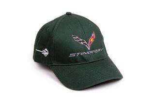 Stingray Corvette Premium Cap in Green