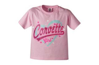Corvette Girl Youth Tee